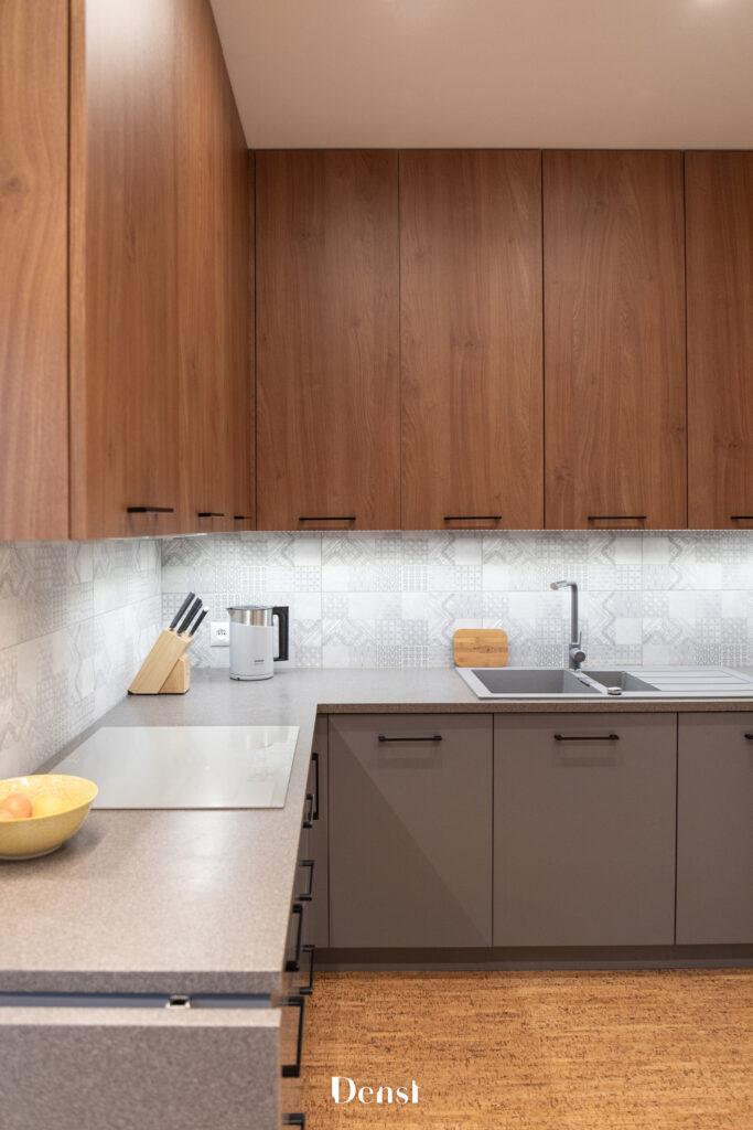 mieszkanie dla dużej rodziny - kuchnia